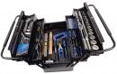 Werkzeugkoffer schwarz mit 84 Werkzeugen, metrisch