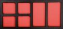 PROForm-Einlagesystem, 6 Leerfächer für Kleinteile
