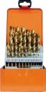 Projahn Spiralbohrer-Kassette HSS-TiN DIN338 Typ N ECO 25-tlg.