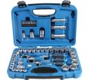 BGS Gear Lock Durchsteck-Steckschlüssel-Satz, 4,5 - 25 mm,52-tlg