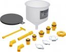 BGS Kühlflüssigkeit-Einfülltrichter-Satz 12-tlg