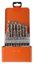 Projahn Bohrer-Kassette  DIN 338 HSS-G Typ N BASIC-Line, 25-tlg.